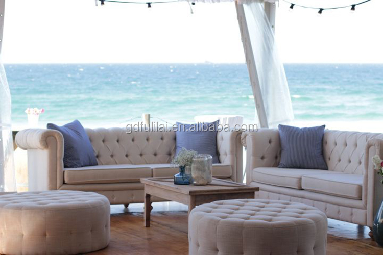 white wedding furniture sofa