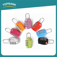 Toprank TSA Safty Luggage Combination Lock Travel Password Lock 4 Digital Combination Travel Luggage Suitcase Lock Padlock