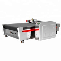 automatic computerized apparel garment textile cnc vibrating round knife cutting machine in cloth cutting machines