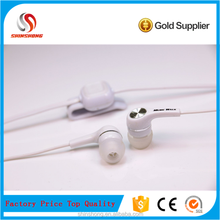 High end microphone handsfree sport mp3 music earphone