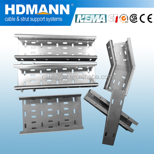 Hot Dip Galvanized network cable tray and accessories