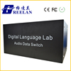 Language Lab Equipment System Teacher's Audio Data Switch with Headset