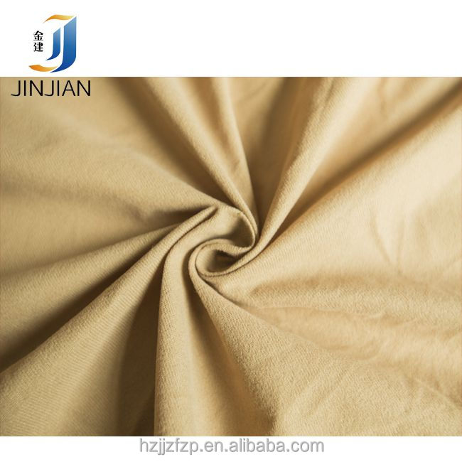 100% polyester imitation cotton velvet sportswear tricot fabric
