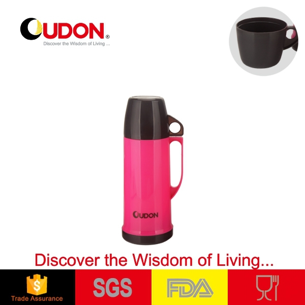 simple new design plastic thermos