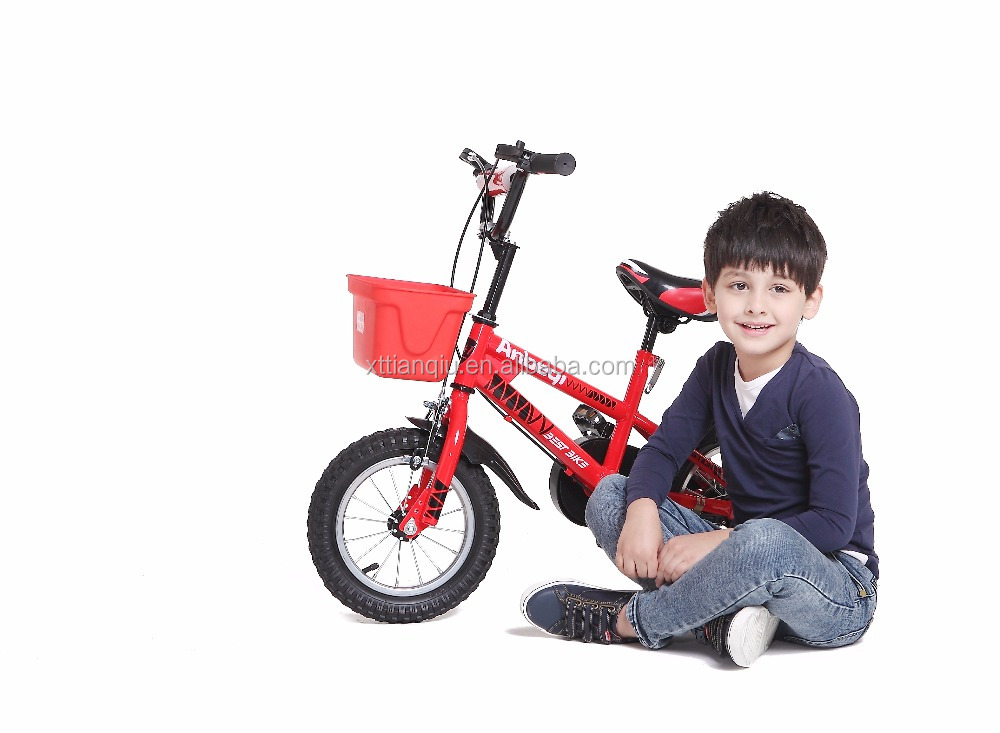 2017 red passionate kid first bike 12'' 14'' 16'' 18'' 20'' aluminum alloy rim steel frame children bicycle