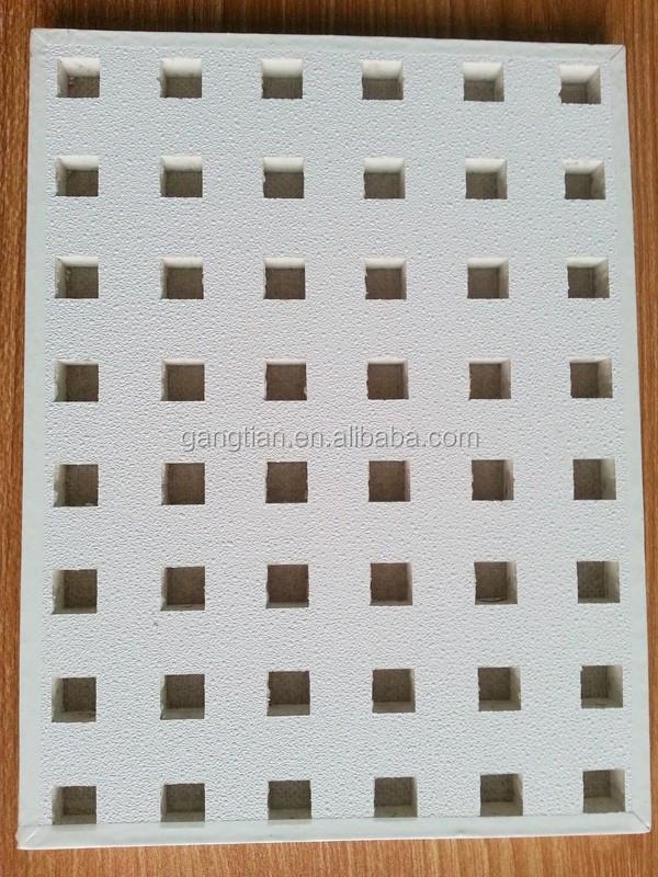 Pvc Laminated Gypsum Board Pvc Gypsum Ceiling Tiles