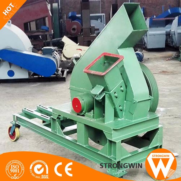 China Strongwin industrial wooden chips making machine disc wood chipper machinery