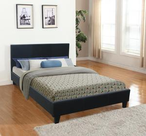 Slat chinese day queen size cheap leather bed