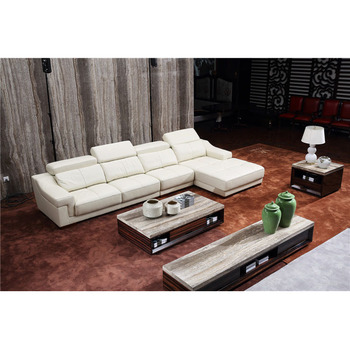 European Luxury Modern Design Living Room Sleeper Sofa Modular Movable  Headrest White Genuine Leather 7 Seater Sectional Sofa - Buy Modern  Sectional ...