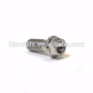 M8x20 Titanium Ti Flange Bolt 10mm Hex
