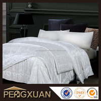 Luxury high quality 100% cotton hotel bed linen set for 5 Star hotel