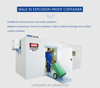 Walk in Explosion Proof Fireproof ContainerOutdoor Container