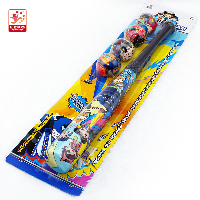 Two Colorful Printing Baseball bat toys for Children Outdoor Sports