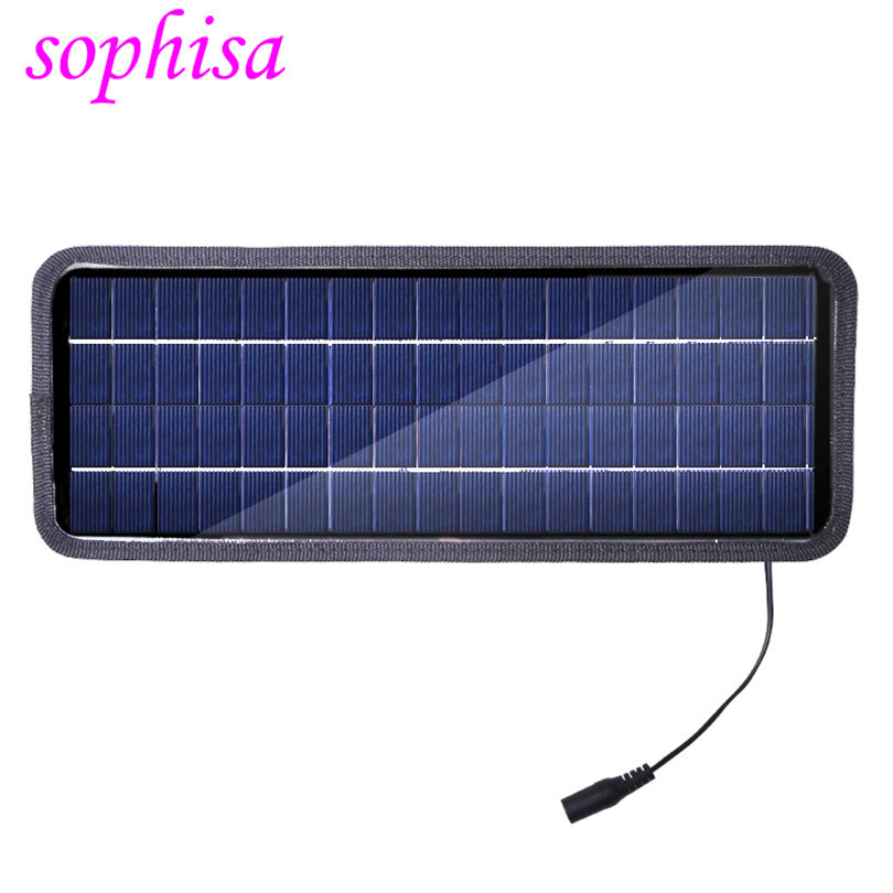 2015 New 12V4.5W Solar Car Charger One Stop Recharge My