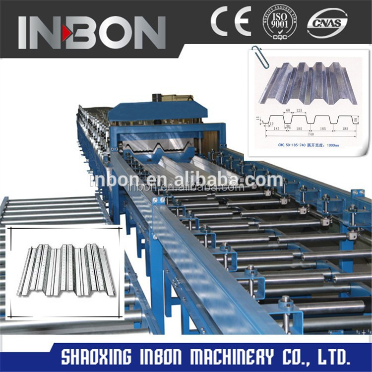 Cold rolled roof curving roll forming machine
