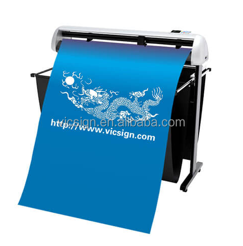 Signmaster software vinyl cutter with 130cm paper feed width/signmaster software servo cutting plotter VICSIGN HS1200