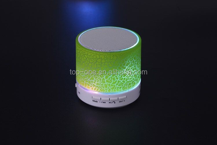Factory wholesales LED blue tooth speaker, disco light blue tooth speaker, party blue totoh speaker