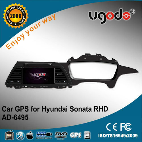 ugode new 2015 car dvd gps navigation sonata for hyundai NF right hand drive