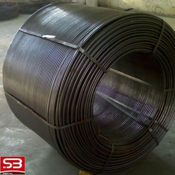 deoxidizer metallurgic pure calcium cored wire