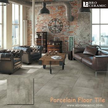 China Foshan Ceramic Cement Look Rustic 24x24 Premium Porcelain Floor Tiles For Building Materials 66lv04