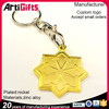Wholesale new product star key chain with rhinestone