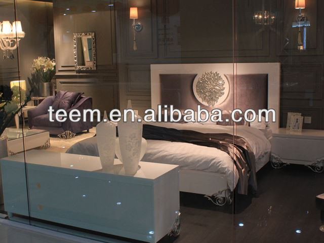 modern hot sales bedroom furniture bed indonesian platform bed