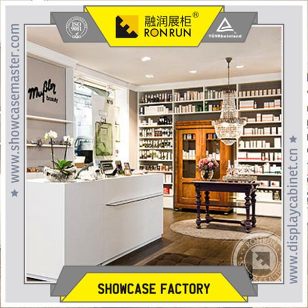Furniture Showcase Interior Design Easley Sc ~ Baby skincare shop interior design and wood display