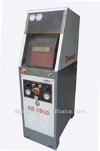 IRON FOX AS 1800 ASSEMBLING SOLES MACHINE WITH BELL, pneumatic shoe sole attaching/pressing machine