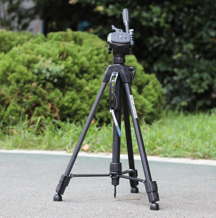 Weifeng Штатив WT-3730 Сплав Алюминия портативная Камера Штатив SLR штатив WT3730