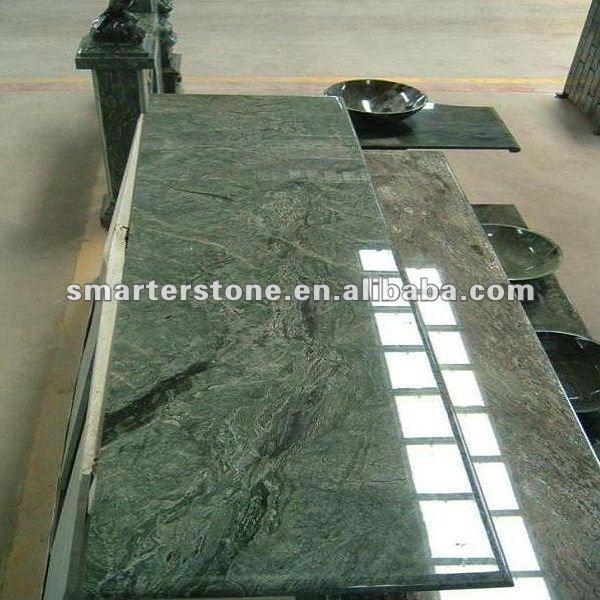 Granit vert cuisine Top et cuisine Table Top-Comptoirs, comptoirs ...