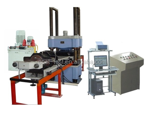 microcomputer controlled electro-hydraulic servo compression and shear testing machine