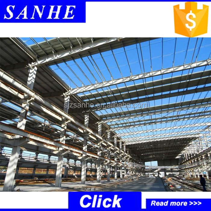 Manufacture Eps/Rockwool Sandwich Wall Light Steel Frame Structure Workshops/Plants/Factories Building