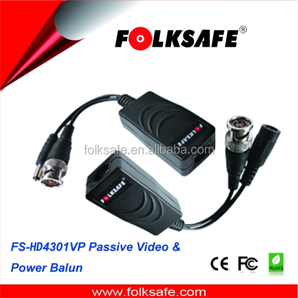 CCTV Camera Accessories Video Balun Transceiver BNC UTP RJ45 Video Power Balun