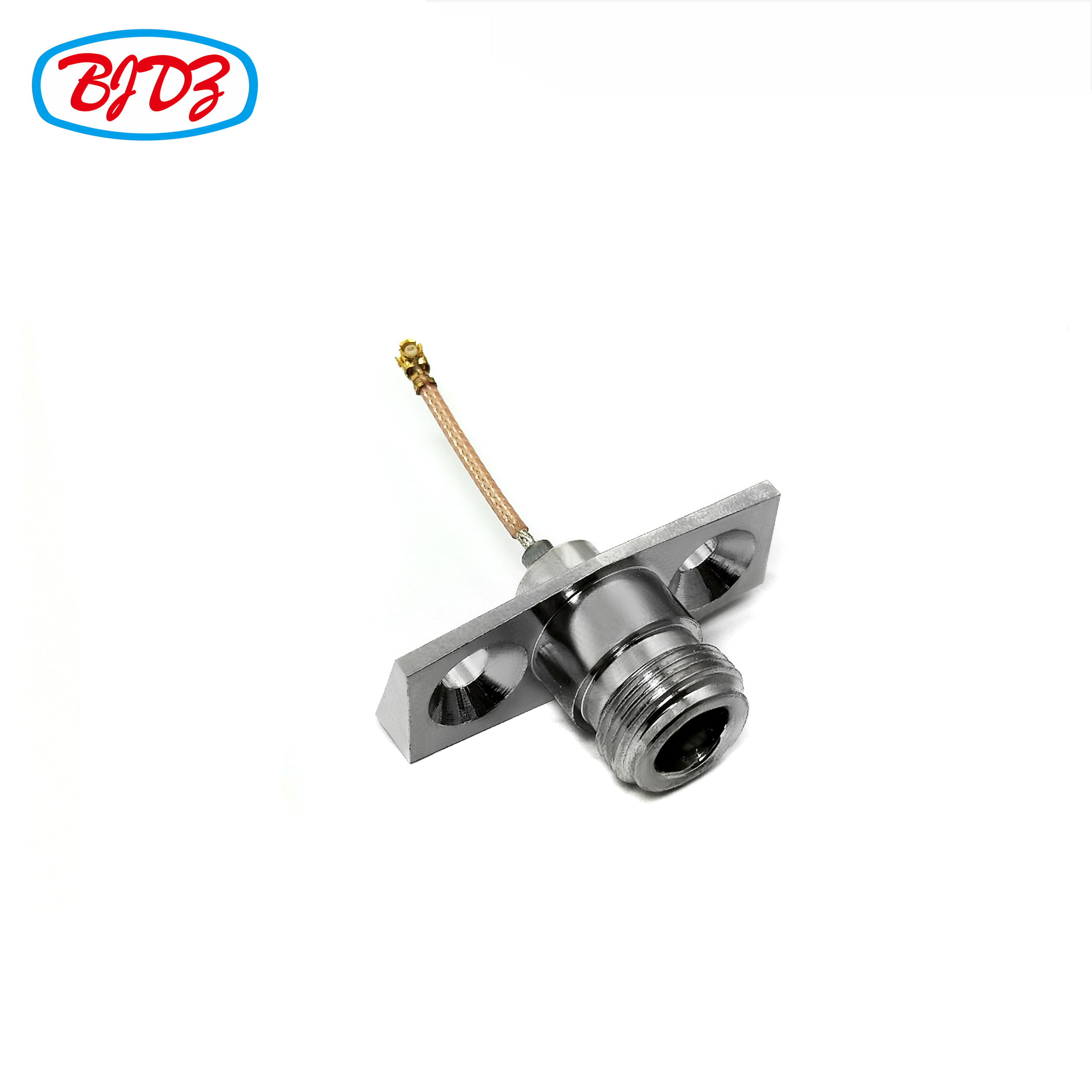RF coaxial cable kit jack N female flange to IPEX UFL connector with RG178 cable assembly