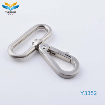 hot sale metal keyring snap hook for handbags