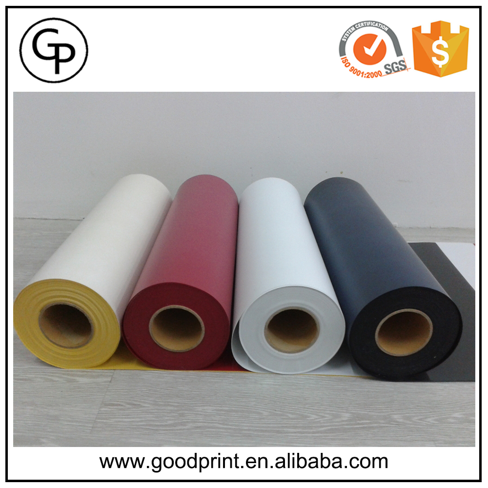 Glossy or matte PVC Color cutting vinyl sticker paper rolls