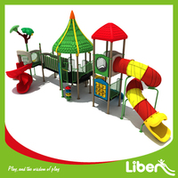 China Factory Popular Used Commercial Big Children Preschool Outdoor Playset Slide