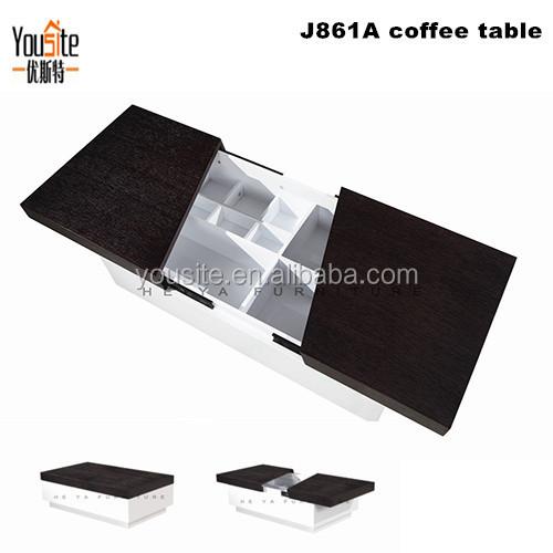 Table Livingroom Furniture Import Egypt Folding Coffee Sets J861A