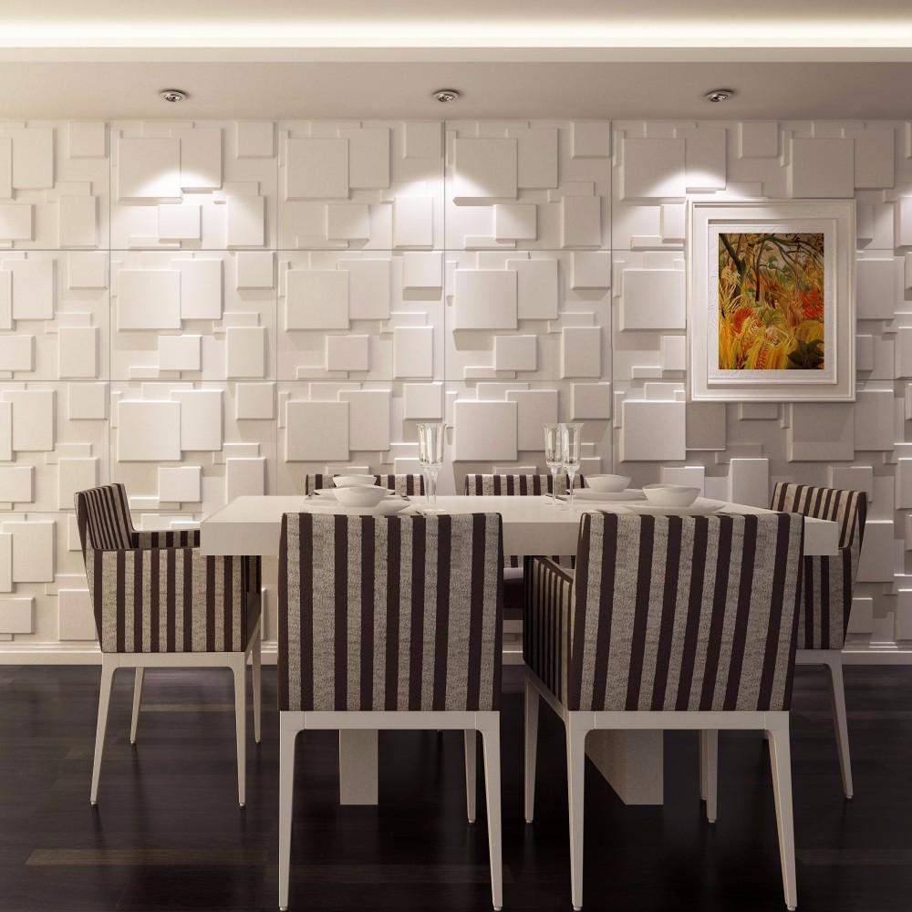 interior decoration building material 3d wall gypsum decoration
