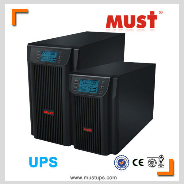 Echte hersteller online double-conversion 1-20kva volle dsp- igbt ups