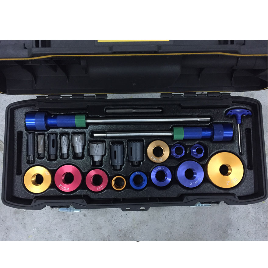 China supplier ABS durable plastic tool box tray with handle