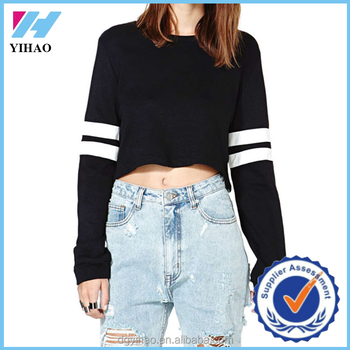 e03b03f4d0a Long Sleeve Round Neck Striped Wholesale, Purchase, Price - Alibaba ...