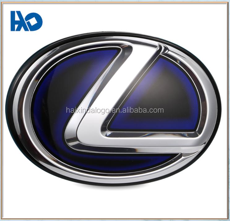 Customized Nice Appearance Top Quality Metal Round Car Logo Badge - Car sign with namescustom car logodie casting abs car logos with names brand emblem