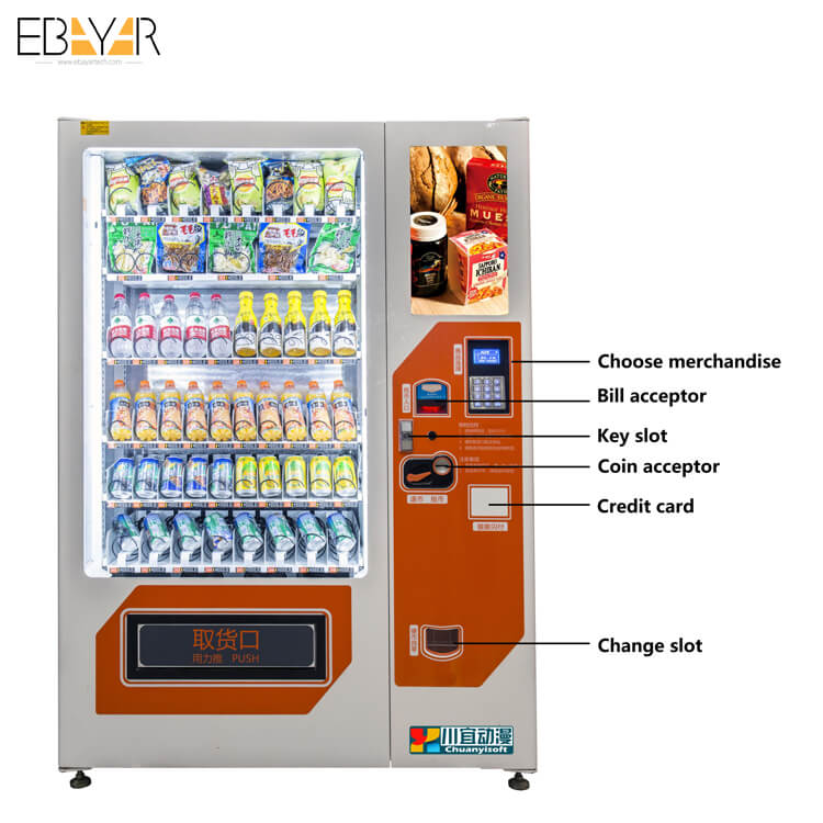 coin opreated vending machine based on