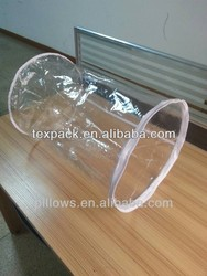 PE/PVC Barrel/cylinder packing bags for pillow/blanket