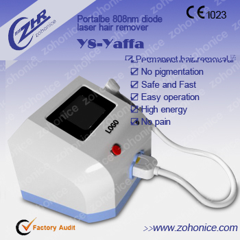 Y8 ámbar permanente hair removal machine
