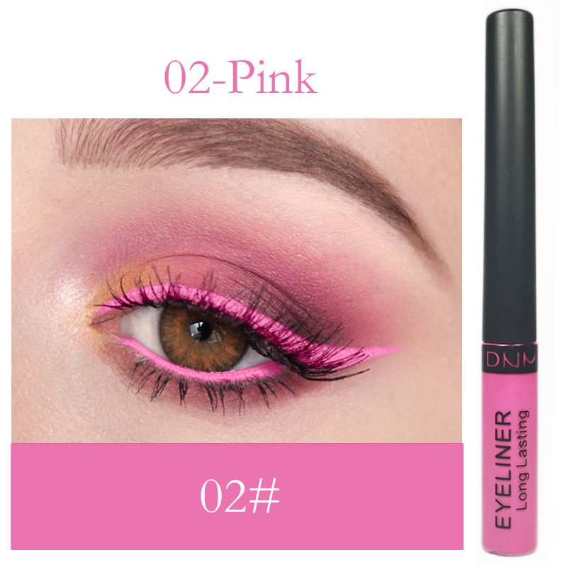 Matte Color Lasting Waterproof Custom Private Label 6 Colors Liquid Eyeliner