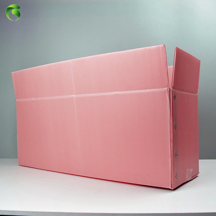 2018 Green pp coroplast corflute correx pink corrugated <strong>plastic</strong>