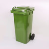 outdoor 120L plastic trash can,Recycling Usage and Standing Structure cubo de la basura