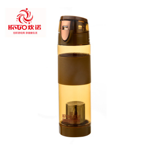 New design PC plastic alkaline water bottle & filter